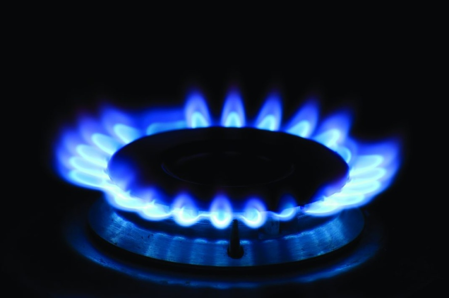 Cooker ring flame