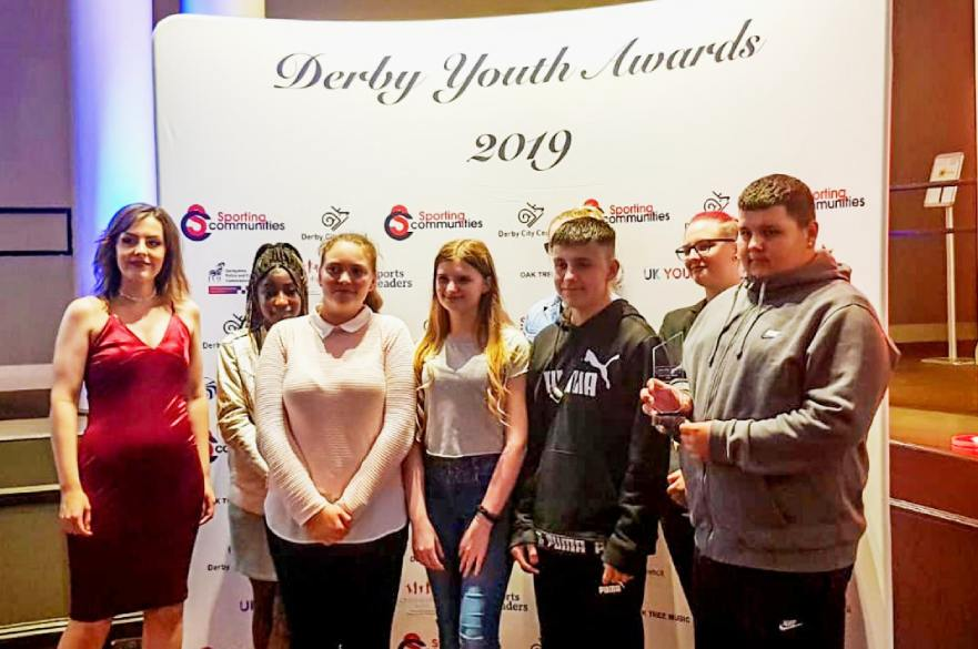Derby Youth Award winners