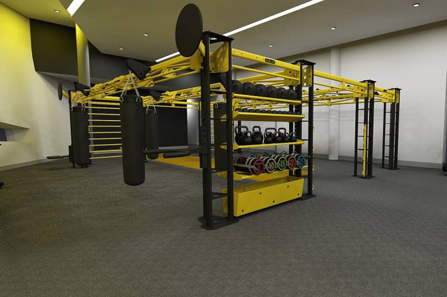Derby Arena gym equipment